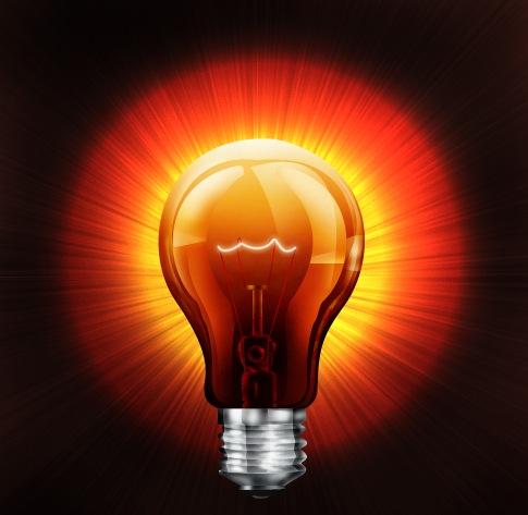 Goodbye to the lighting bulb energytics by ec consultants for Lamp light photoshop